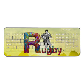 TOP Rugby Wireless Keyboard