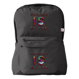 TOP Running is My Life Backpack