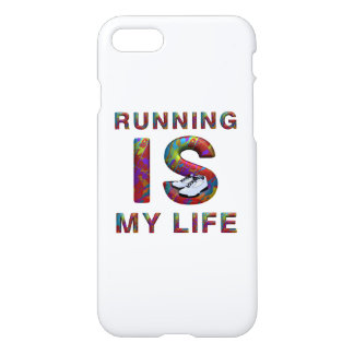 TOP Running Is My Life iPhone 8/7 Case