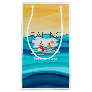 TOP Sail Poetry Small Gift Bag