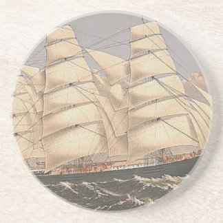 TOP Sailing Seas Drink Coaster
