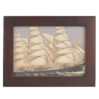 TOP Sailing Seas Keepsake Boxes