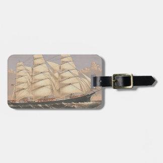 TOP Sailing Seas Luggage Tag