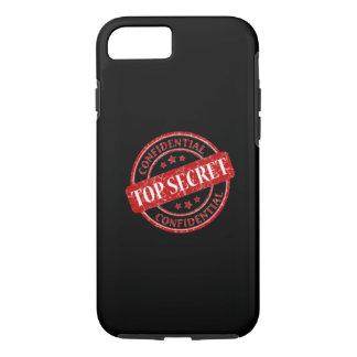 Top Secret Confidential iPhone 7 Case