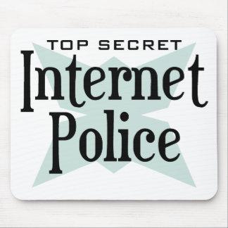 Top Secret Intenet Police Mouse Pad