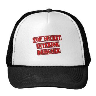 Top Secret Interior Designer Trucker Hat