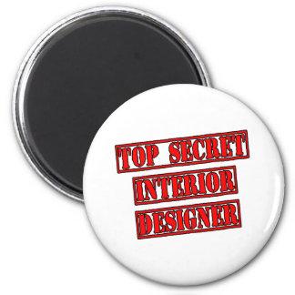 Top Secret Interior Designer Magnet