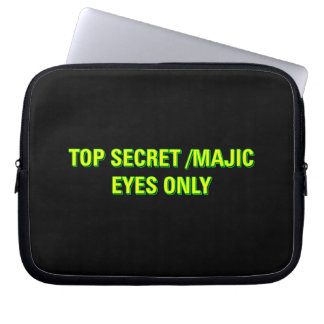 Top Secret Majic Eyes Only Laptop Sleeve