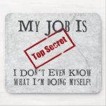 Top Secret! Mousemat