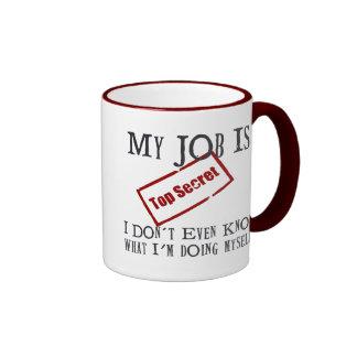 Top Secret! Ringer Mug