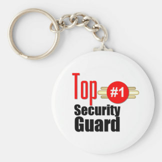 Top Security Guard Basic Round Button Key Ring