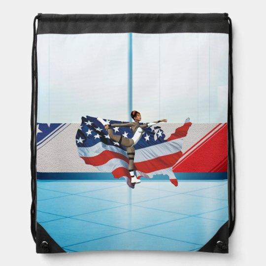 TOP Skate USA Drawstring Bag