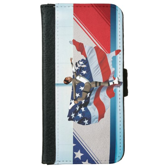 TOP Skate USA iPhone 6 Wallet Case
