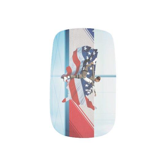 TOP Skate USA Minx Nail Art