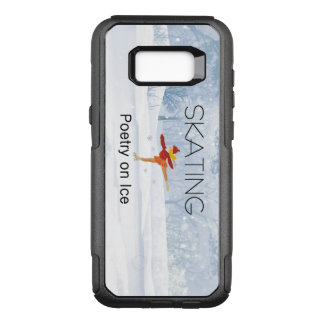 TOP Skating Poetry OtterBox Commuter Samsung Galaxy S8+ Case