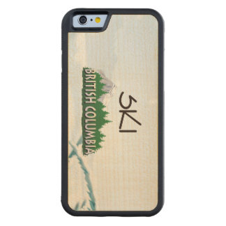TOP Ski BC Carved Maple iPhone 6 Bumper Case