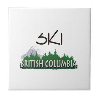 TOP Ski BC Ceramic Tile