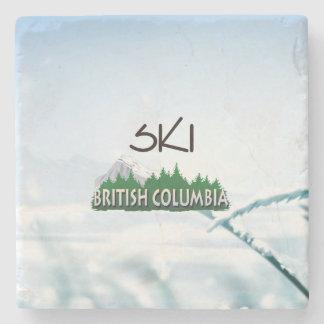 TOP Ski BC Stone Coaster