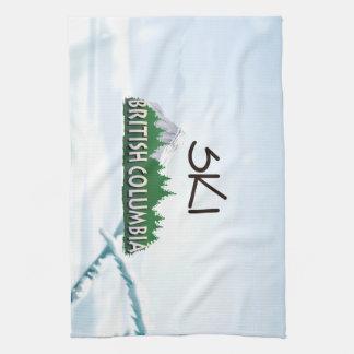 TOP Ski BC Tea Towel