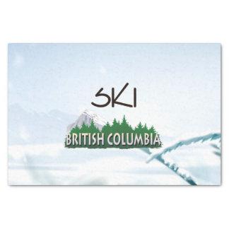 TOP Ski BC Tissue Paper