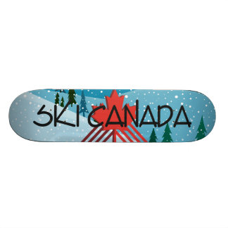 TOP Ski Canada 21.6 Cm Old School Skateboard Deck