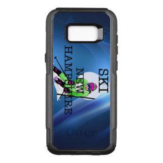 TOP Ski New Hampshire OtterBox Commuter Samsung Galaxy S8+ Case
