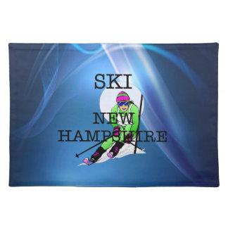 TOP Ski New Hampshire Placemat