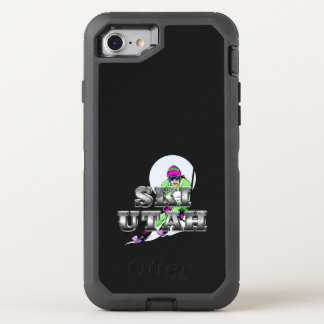 TOP Ski Utah OtterBox Defender iPhone 8/7 Case