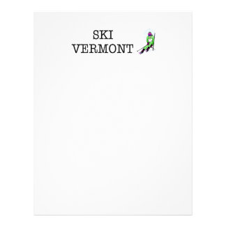 TOP Ski Vermont 21.5 Cm X 28 Cm Flyer