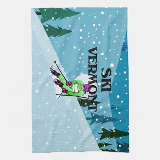 TOP Ski Vermont Hand Towels