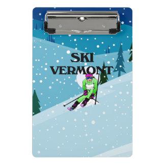TOP Ski Vermont Mini Clipboard