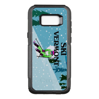 TOP Ski Vermont OtterBox Commuter Samsung Galaxy S8+ Case