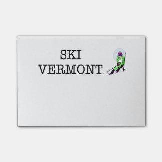 TOP Ski Vermont Post-it Notes