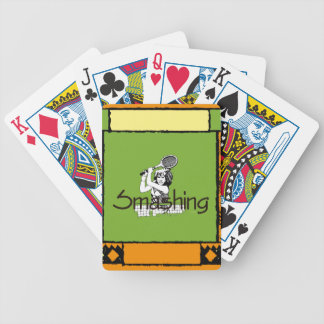 TOP Smashing Tennis Bicycle Playing Cards