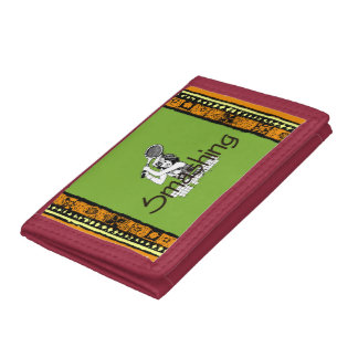 TOP Smashing Tennis Tri-fold Wallets