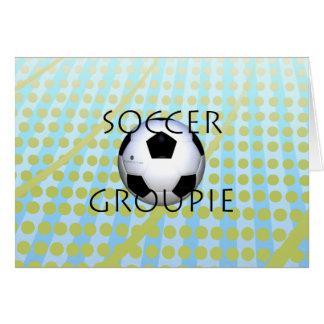 TOP Soccer Groupie Card