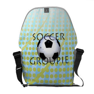 TOP Soccer Groupie Courier Bag