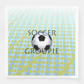 TOP Soccer Groupie Paper Napkins