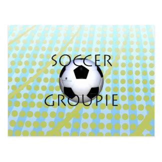 TOP Soccer Groupie Postcard
