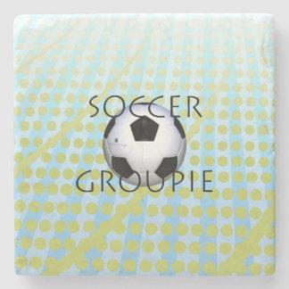TOP Soccer Groupie Stone Coaster