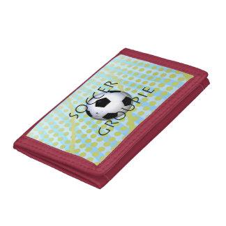 TOP Soccer Groupie Tri-fold Wallet