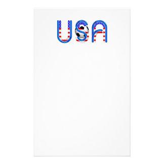 TOP Soccer USA Custom Stationery