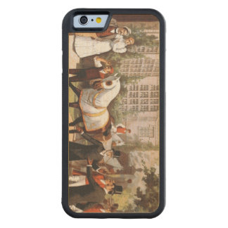 TOP Sport of Champions Carved Maple iPhone 6 Bumper Case