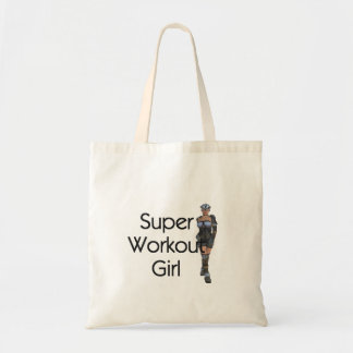 TOP Super Workout Girl Tote Bag