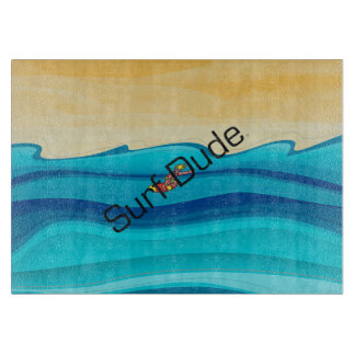 TOP Surf Dude Cutting Board