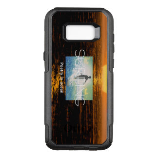 TOP Surfing Poetry in Ocean OtterBox Commuter Samsung Galaxy S8+ Case
