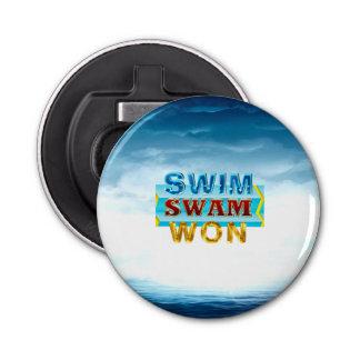 TOP Swim Swam Won Bottle Opener