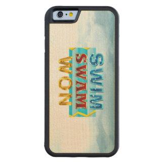 TOP Swim Swam Won Maple iPhone 6 Bumper