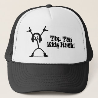 Top Ten Rocker Trucker Cap