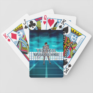 TOP Tennis Warrior Bicycle Playing Cards